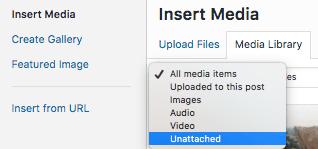 WordPress'te Kullanılmayan Medyayı Kaldırma