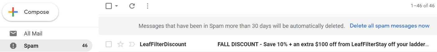 spam başlık anahtar kelimeleri